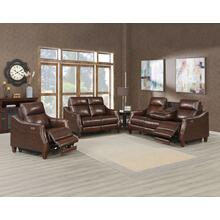 Akari 3-Piece Leather Dual-Power Reclining Seat (Sofa, Loveseat & Chair)