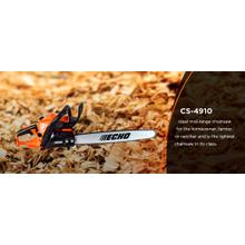 ECHO's CS-4910 Gas Powered Chainsaw ECHO-USA