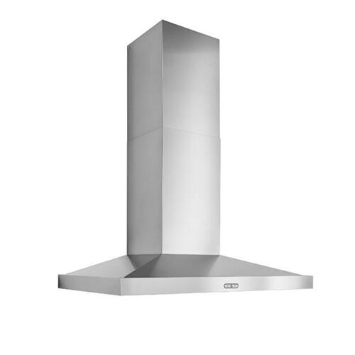 WCP3 36-in. 650 Max CFM Stainless Steel Chimney Range Hood with LED Lights