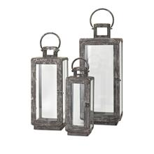 Homestead Metal Lanterns - Set of 3