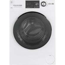 GE® 2.9 IEC Cu. Ft. Front Load Washer with Steam White - GFW148SSMWW