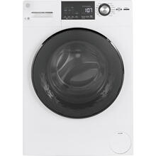 See Details - GE® 2.8 IEC Cu. Ft. Front Load Washer with Steam White - GFW148SSMWW