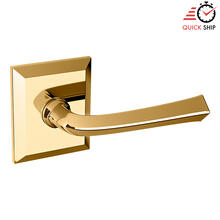 See Details - Lifetime Polished Brass 5141 Estate Lever with R033 Rose