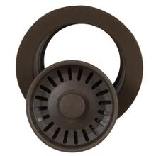 View Product - Brown Disposer Flange with Strainer Kitchen Drain - For Granite Composite Sinks