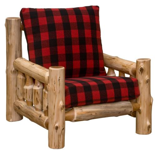Lounge Chair - Natural Cedar - Upgrade Fabric