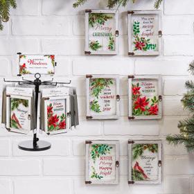 Christmas Blessings Window Plaques Assortment (12 pc. assortment)