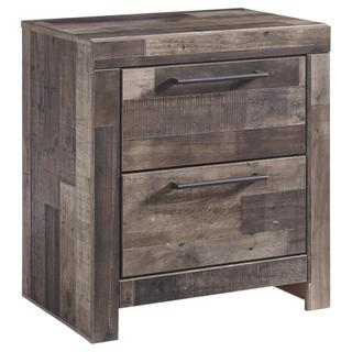 Derekson Two Drawer Night Stand