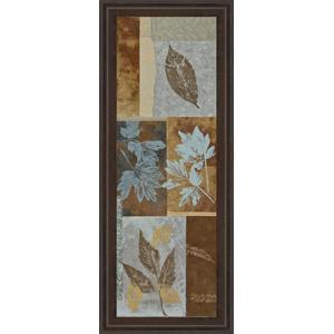"Classy Art - ""Blue Fusion Panel I"" By Jeni Lee Framed Print Wall Art"