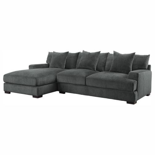 2-Piece Modular Sectional with Left Chaise