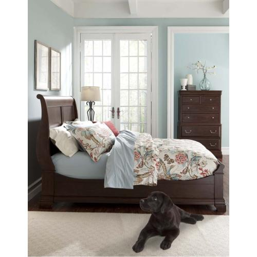 Provence Storage Sleigh Bed