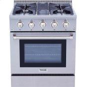Professional 30 Inch Dual Fuel Range In Stainless Steel - Liquid Propane