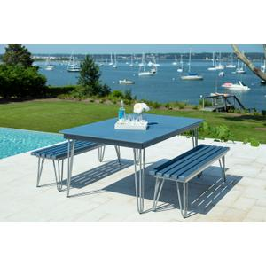 Seaside Casual - Hip 41x70 Dining Table (414)