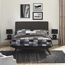 See Details - Tracy 3 Piece Queen Bedroom Set in Cappuccino Brown