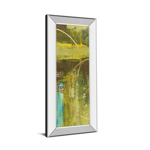 "Classy Art - ""Aller Chartreuse"" By Patrick St. Germain Mirror Framed Print Wall Art"