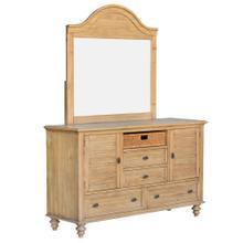 Dresser w/Mirror - Vintage Casual