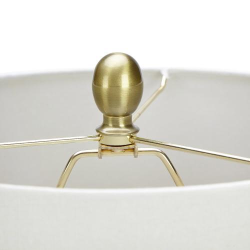 Zenais Acrylic and Glass Table Lamp
