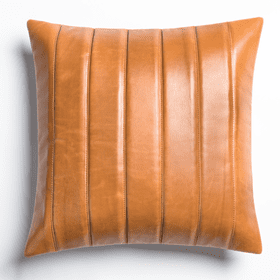 "Moxie 20"" Pillow in Refined Bourbon"