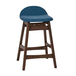 Liberty Furniture Industries - 24 Inch Counter Chair - Blue (RTA)