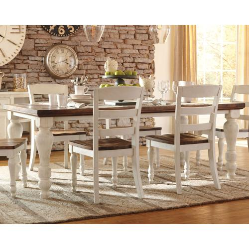 D71225 In By Ashley Furniture In Baton Rouge La Marsilona Dining Room Table