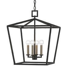 View Product - Denison Black Medium Lantern