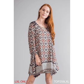 Mandala Lace Top - L/XL (3 pc. ppk.)