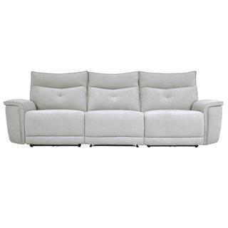 Tesoro Power Double Reclining Sofa w/ Power Headrests
