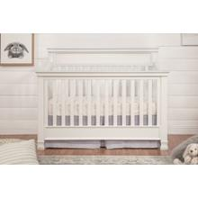 Warm White Foothill 4-in-1 Convertible Crib