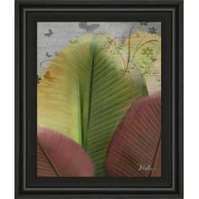 """""""Butterfly Palm I"""" By Patricia Pinto Framed Print Wall Art"""