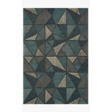 View Product - GQ-01 Teal / Grey Rug