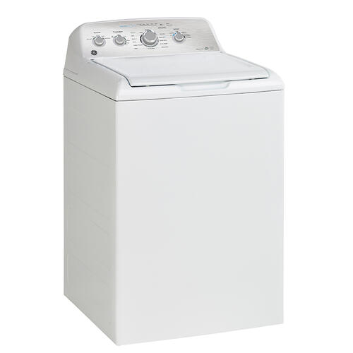 GE 5.0 Cu. Ft. Top Load Washer with SaniFresh Cycle White - GTW550BMRWS