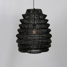 See Details - Shelly Pendant Large Black w/Bulb
