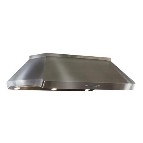 "BEST Range Hoods - BEST IP29M54SB  Centro Island - 54"" x 32"" Stainless Steel Island Range Hood with internal/external blower options"