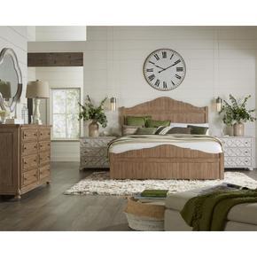 California King Bed Rails - Caramel Finish