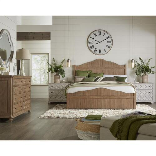Madison - King/california King Panel Headboard - Caramel Finish