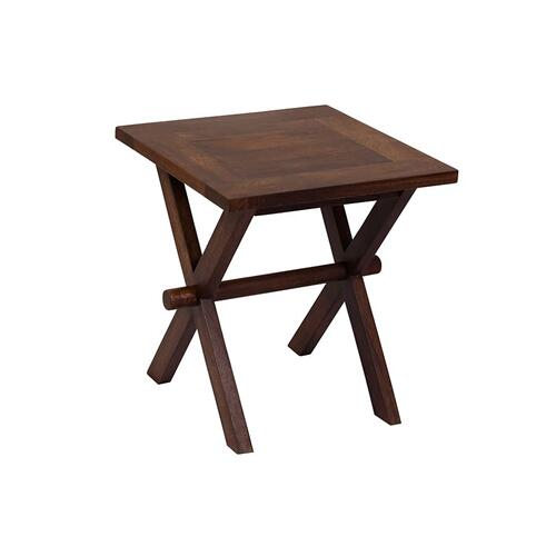 X-Table Chestnut End Table, 6255-E