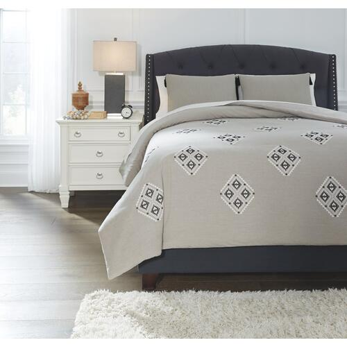 Jawanza 3-piece Queen Comforter Set