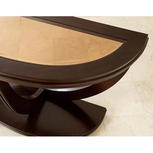 Gallery - La Jolla Sofa Table, Brown
