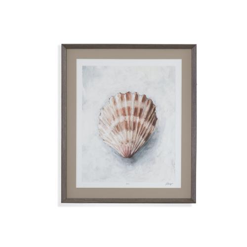 Bassett Mirror Company - White Shell Study IV
