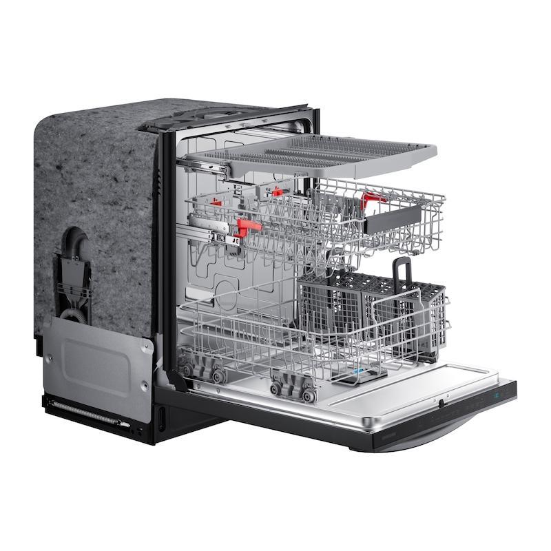 StormWash™ 42 dBA Dishwasher in Black Stainless Steel