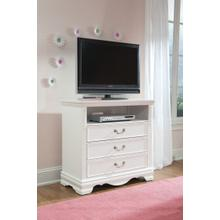 Jessica Entertainment Console, White