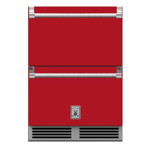 "24"" Hestan Outdoor Refrigerator Drawers - GRR Series - Matador"