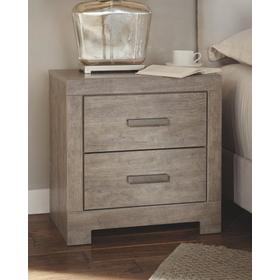 Culverbach Two Drawer Night Stand Gray