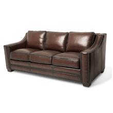 Henley Leather StandardSofa in Ember Espresso