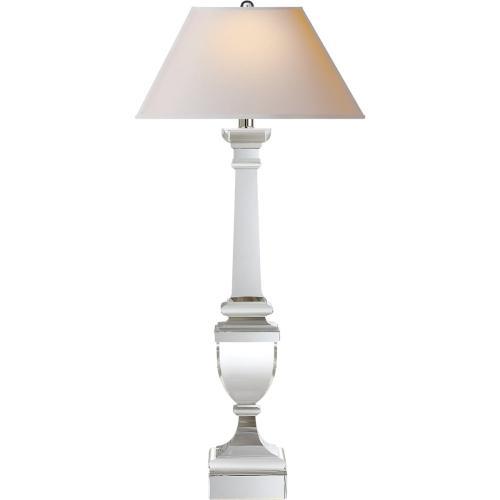 Visual Comfort CHA8710CG-NP E. F. Chapman Gustavian 34 inch 60 watt Crystal Decorative Table Lamp Portable Light