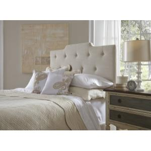 All-in-One Upholstered Queen Bed in Linen