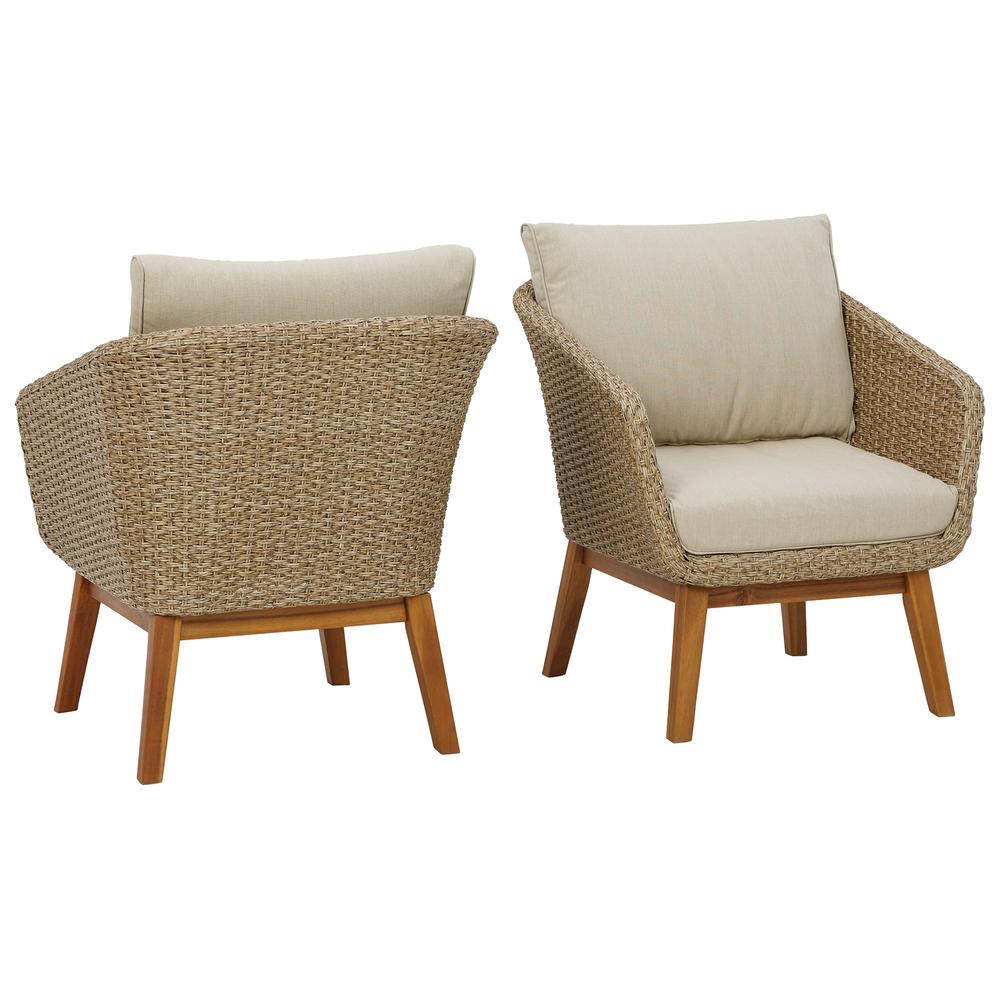 Crystal Cave Outdoor Lounge Chair With Cushion (set of 2)