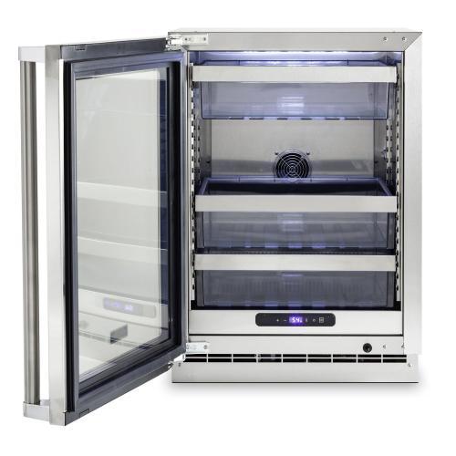 "Viking - 24""W. Stainless Steel Interior Undercounter Refrigeration - VURE"
