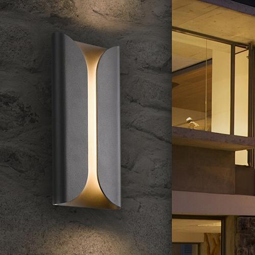 Sonneman - A Way of Light - Folds LED Sconce [Size=Standard, Color/Finish=Textured Bronze]