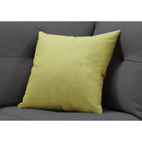"""Gallery - PILLOW - 18""""X 18"""" / PATTERNED LIME GREEN / 1PC"""