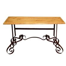 See Details - Bent Iron Sofa Table